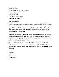 formal complaint letters us example of formal letter