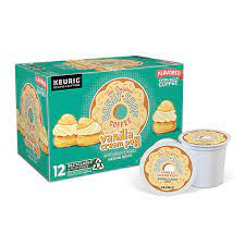 Certified orthodox union kosher and contains no artificial ingredients. The Original Donut Shop Coffee K Cup Pods Medium Roast Vanilla Cream Puff 12 0 36 Oz Albertsons