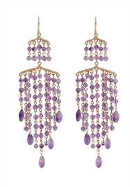 shantal jewelry pink and purple and gold 925 silver gold plated elegant amethyst earring sh814ac70rajsg 1
