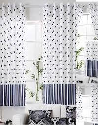 Navy And White Curtains Navy Blue Polka Dot Curtains Best Curtains 2017