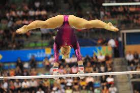 Wonderful Floor Gymnastics Shawn Johnson Kyfun Olympic Gymnast Uneven Bars In Beautiful Design