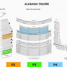 Alabama Theater Seating Chart 49 Unfolded Midland Theater Seating