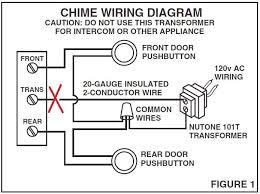 nutone doorbell wiring diagram doorbell wiring 4 wires at Wiring Diagram For Front Door Bell