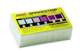 Brake Fluid Comparison Chart Brakestrip Fascar Rating Scale 400 Cards Per Box