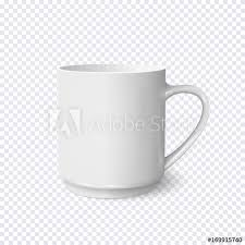 coffee cup transparent background. Simple Cup Realistic White Coffee Cup Isolated On Transparent Background With Coffee Cup Transparent Background