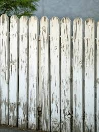outdoor wood fence