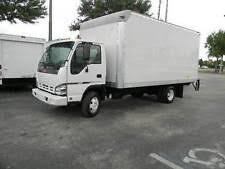 isuzu npr 2007 isuzu npr h d gmc w4500 ~16ft box truck diesel automatic ~