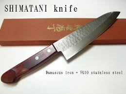 R4 Damascus 3Piece Set Paring Knife Santoku Knife And Chefu0027s Damascus Steel Kitchen Knives