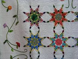 AQS QuiltWeek in Paducah III – Feathered Star Quilts   Dragonfly ... & Paducah AQS show 074 ... Adamdwight.com