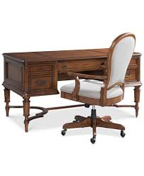 Clinton Hill Cherry Home fice Furniture 2 Pc Set Writing Desk