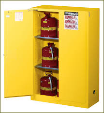 Yellow Flammable Cabinet Flammable Storage Cabinet Eagle Flammable Cabinet Safely Stores