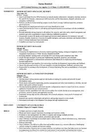 Pre Board Screening Officer Resume Sample Pre Board Screening Officer Resume New Senior Security Resume 1