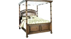 Canopy Bed Frame Queen Wood Ikea For Sale Image Of Metal King Home ...
