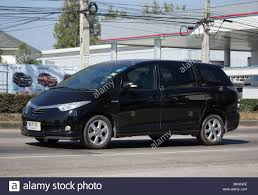 CHIANG MAI, THAILAND -JANUARY 22 2018: Private Toyota Estima car ...