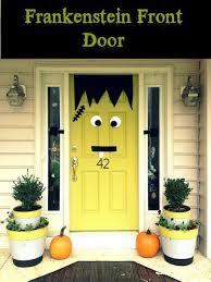 halloween door decorating ideas. Frankenstein Halloween Door Decorations Halloween Door Decorating Ideas T