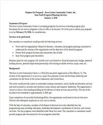 Sample Budget Plan For Non Profit Free 8 Non Profit Proposal Examples Samples In Doc Pdf