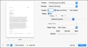 HP Printers - Print Settings Guide (Mac) | HP® Customer Support