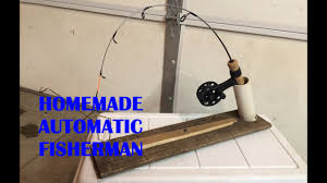 Homemade Tip Up Designs How To Make A Homemade Automatic Fisherman