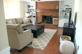 living room with brick fireplace paint colors red brick fireplace accent wall paint color to accent