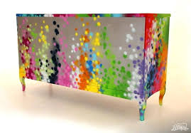 cheap funky furniture uk. Funky Furniture Design Stunning Graffiti In Vibrant  Colours By Designer Uk Cheap N