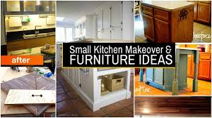 small kitchen furniture. 20 Small Kitchen Makeover And Furniture Ideas