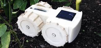tertill weeding robot for home gardens