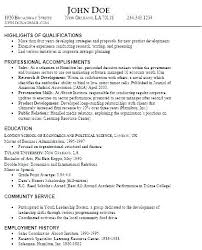 Example Of Skills Section On Resume Resume Skills Section Examples