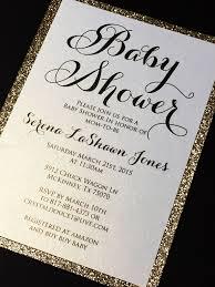 Baby Shower Invitation Glitter Baby Shower Invitations Engagement