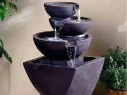 portable waterfall fountain diy indoor fountain lovable portable water fountain the joy of
