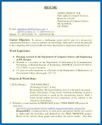 Resume Career Objective Sample Best of General Objective For Resume Examples Software Engineer Resume