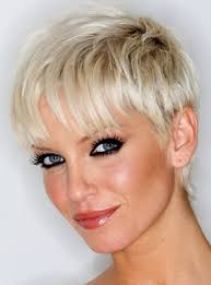 pictures of short haircuts for thin hair photo 1