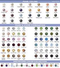 Pearl Color Chart Custom Color Chart