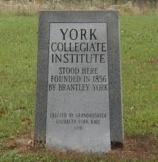 <b>York Collegiate Institute</b> – Alexander <b>County</b>, NCGenWeb