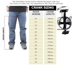 Mountain Bike Crank Arm Length Chart Forums Mtbr Com