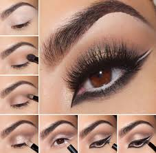 cat smokey eye makeup tips for brown eyes