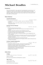 Carpenter/Handyman Resume samples