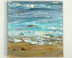 abstracto abstract painting ocean beach scene painting acrylic oil painting
