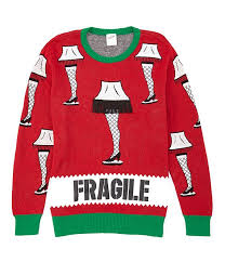 Fragile Jeans Size Chart A Christmas Story Fragile Lamp Fringe Christmas Sweater