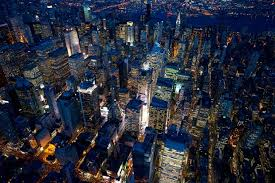 big view photography. Simple View Aerial Photographs Of New York At Night To Big View Photography