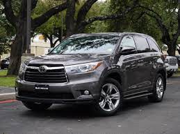 2014 Toyota Highlander Backup Camera Power Lift Gate Third Row Seating Captain S Chairs On Second Row Hea Toyota Highlander Toyota Used Toyota Highlander