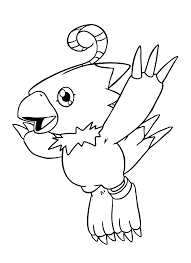Small Picture Free Printable Digimon Make Photo Gallery Digimon Coloring Pages
