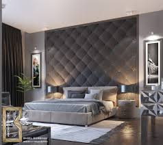 Bedroom Designs: Spotted Wall White Feature Wall Ideas - Accent Wall Bedroom