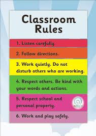 Classroom Fairness Classroom Posters Charts Edgalaxy