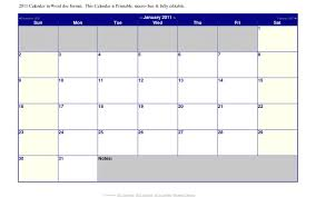 Calendar Word Template Awesome October 2015 Calendar Word Template