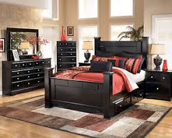 shay bedroom set. image is loading ashley-furniture-b271-shay-queen-king-black-poster- shay bedroom set