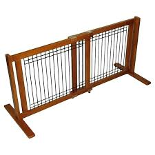 wooden pet gates freestanding wood wire pet gate pet folding wooden pet gate with door
