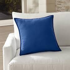 Sunbrella Blue Outdoor Pillow