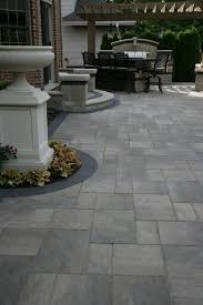 outdoor patio pavers tile brick grout quarry on plastic interlocking