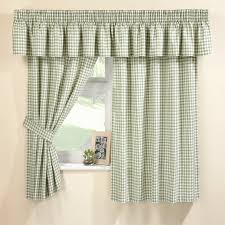 trendy gingham curtains 12 black and white checd kitchen ds