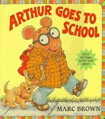 ARTHUR GOES TO SCHOO: Brown, Marc: 9780679867340: Amazon.com: Books